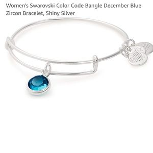 New Alex and Ani December Birthstone Bracelet
